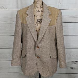 PENDLETON Tweed 100% Pure Virgin Wool Suit Coat